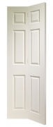 XL Joinery Internal White Moulded Colonist 6 Panel Bi-Fold